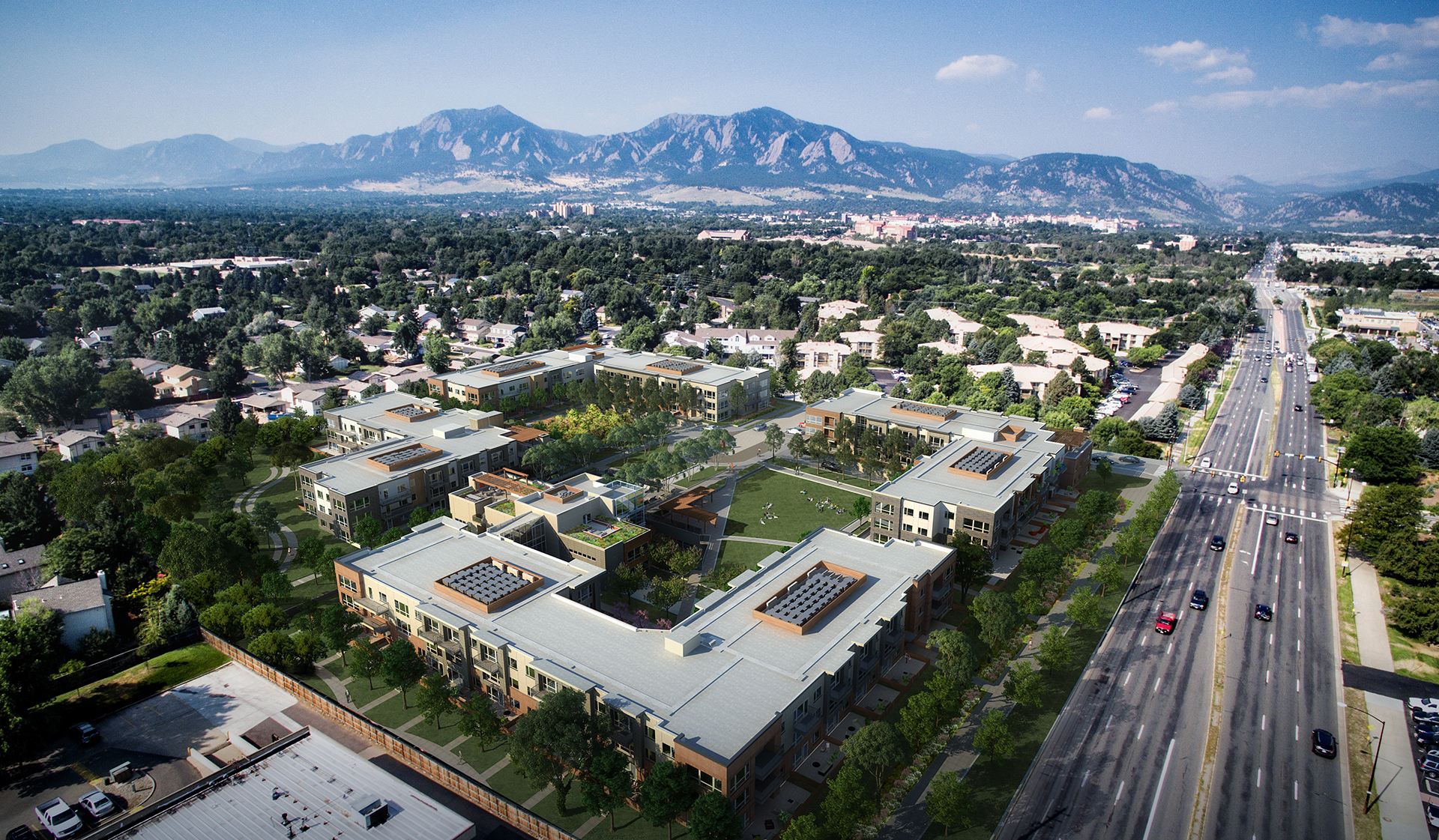 Parc Mosaic Apartments - Boulder, CO - Boulder Lifestyle