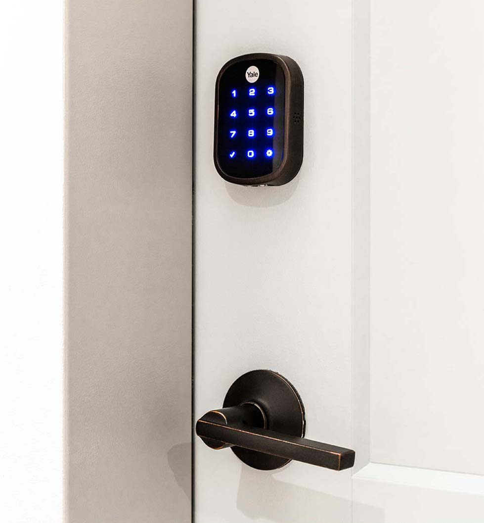 Parc Mosaic - Smart home door lock